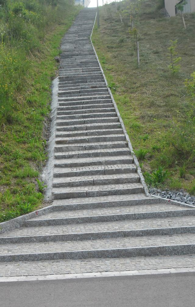 Das gibt es nur in der Schweiz: Treppen ohne Handlauf